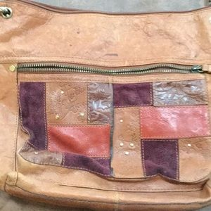 Fossil leather purse.
